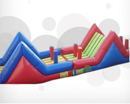 2 Slides Obstacle Course1