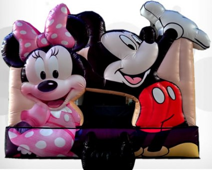 Minie and Mickey Mouse 3D