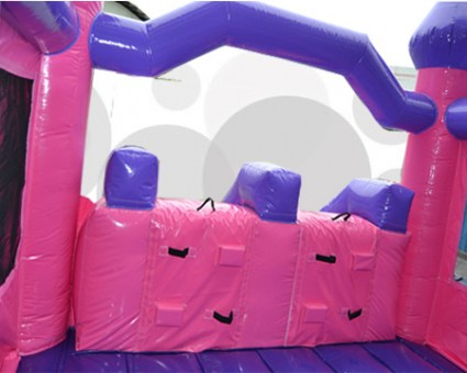 Pink Castle double Slide 20